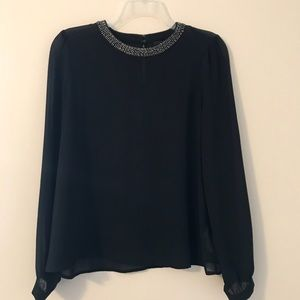 FOREVER 21• Size Small Sheer Long Sleeved Top